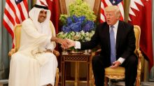 Trump, on Twitter, upends U.S. relations with Qatar