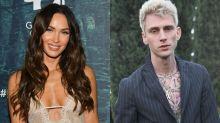 Machine Gun Kelly says he's 'in love' as he enjoys romantic dinner with Megan Fox