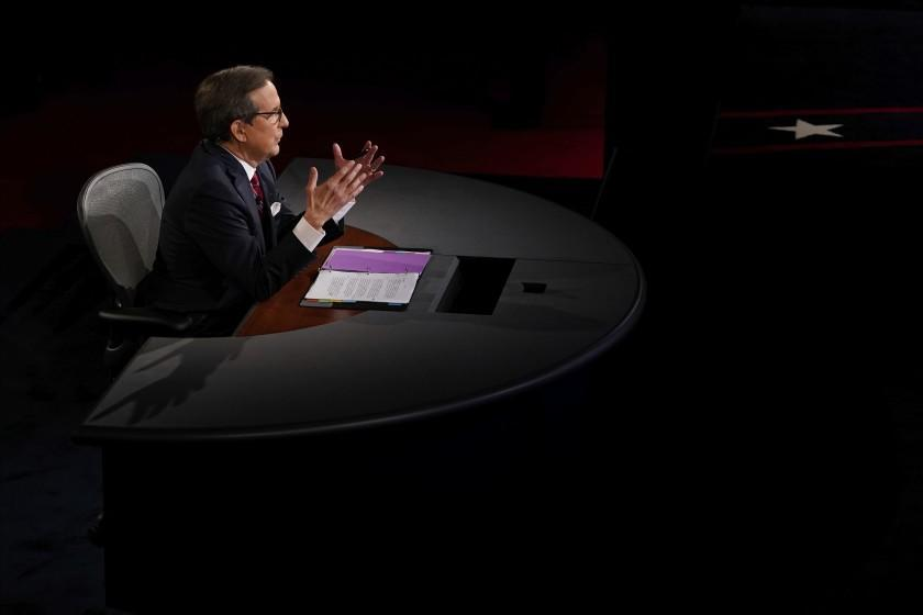 Chris Wallace sounds off after chaotic debate