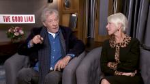 'The Good Liar' interview: Ian McKellen, Helen Mirren, Russell Tovey and Bill Condon on directing