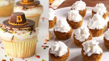 These Pilgrim Hat Thanksgiving Cupcakes Will Steal the Spotlight
