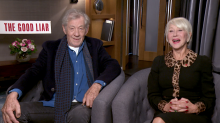 Ian McKellen and Helen Mirren discuss gender-flipping Gandalf in 'Lord of the Rings'