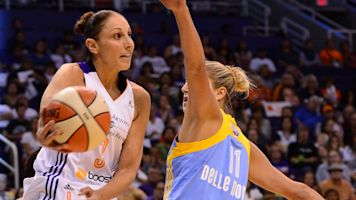 Is the new WNBA logo based on a real player?