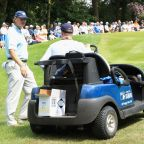 Ernie Els penalizes himself after chipping in for eagle at BMW PGA