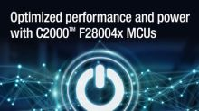 Developers can maximize efficiency in cost-sensitive power-control applications with new additions to TI's C2000™ Piccolo™ microcontroller portfolio