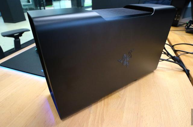 Razer's 'Core' external GPU ships in April for $500