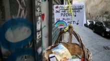 In Naples, 'solidarity' food baskets abound as pandemic bites