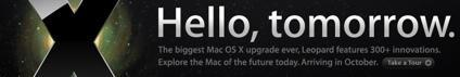 Hello Tomorrow: The 300+ new features of Mac OS X 10.5 Leopard