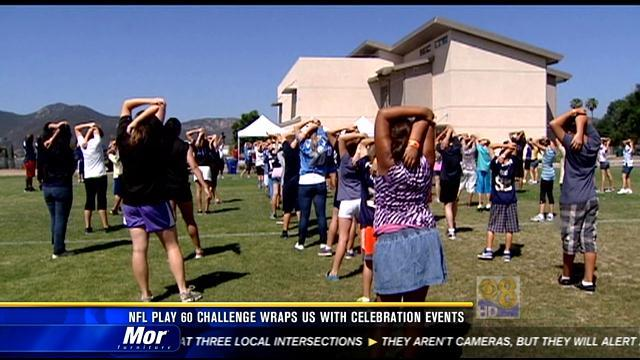 NFL Play 60 Challenge wraps up with celebration events
