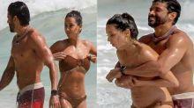 SEE PICTURES: Shibani Dandekar in sexy beachwear