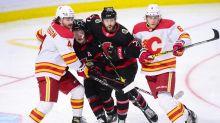 Batherson scores twice for Ottawa Senators in 5-1 win over Calgary Flames