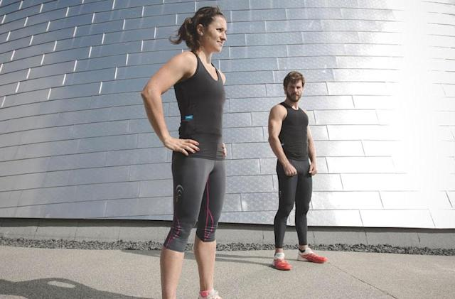 Hexoskin's fitness clothes now work with third-party apps