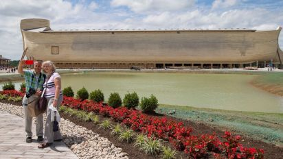 Noah's Ark replica owner sues over rain damage