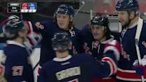 Carl Hagelin scores out of the penalty box