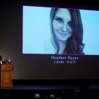 Virginia rally victim's message 'magnified,' mother tells memorial