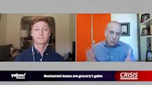 Crisis Management: Grocery stores profit as restaurants starve
