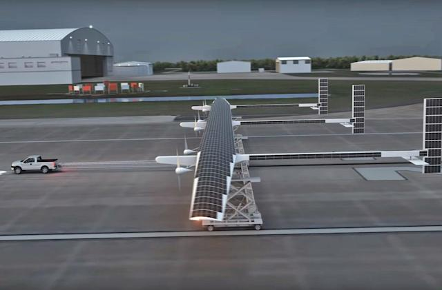 Boeing's solar-powered climate research drone takes flight in 2019