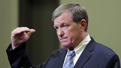 Panthers' interim GM Marty Hurney wastes no time getting to work, cutting Michael Oher