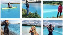El hermoso lago de Siberia donde los instagramers adoran tomarse fotos es un basurero tóxico