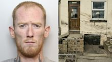 Psychotic father, 29, who tried to kill four children with a hammer before crashing their car into pub is jailed for life