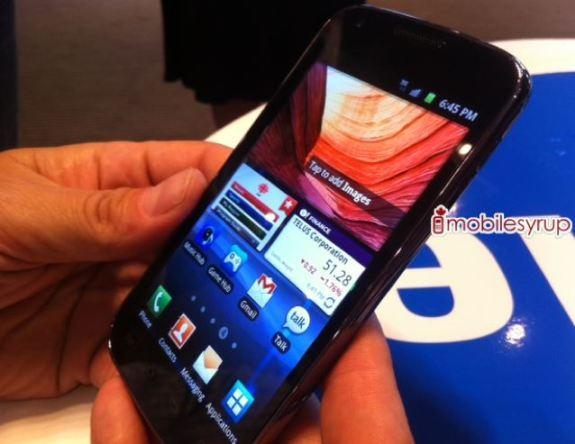 Samsung Hercules snapped in the wild, powering its way to Telus soon?