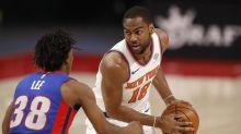Knicks explode for 44-point win over Pistons