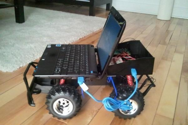RixRover is the cheap RC car controlled by a rather more expensive Arduino and netbook combo (video)