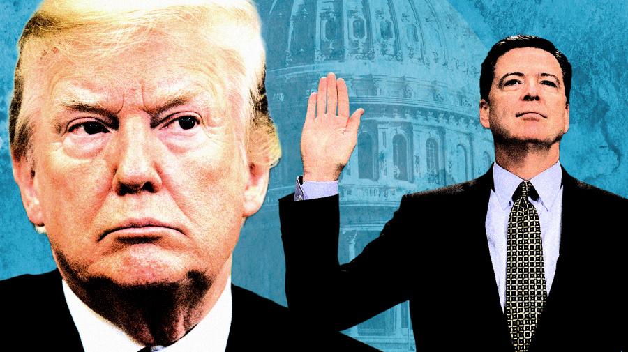 'All lies': Trump trashes Comey's testimony