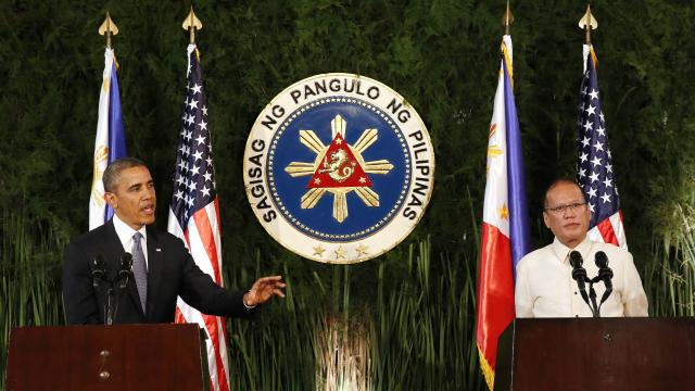 Obama, Aquino Discuss New Security Agreements