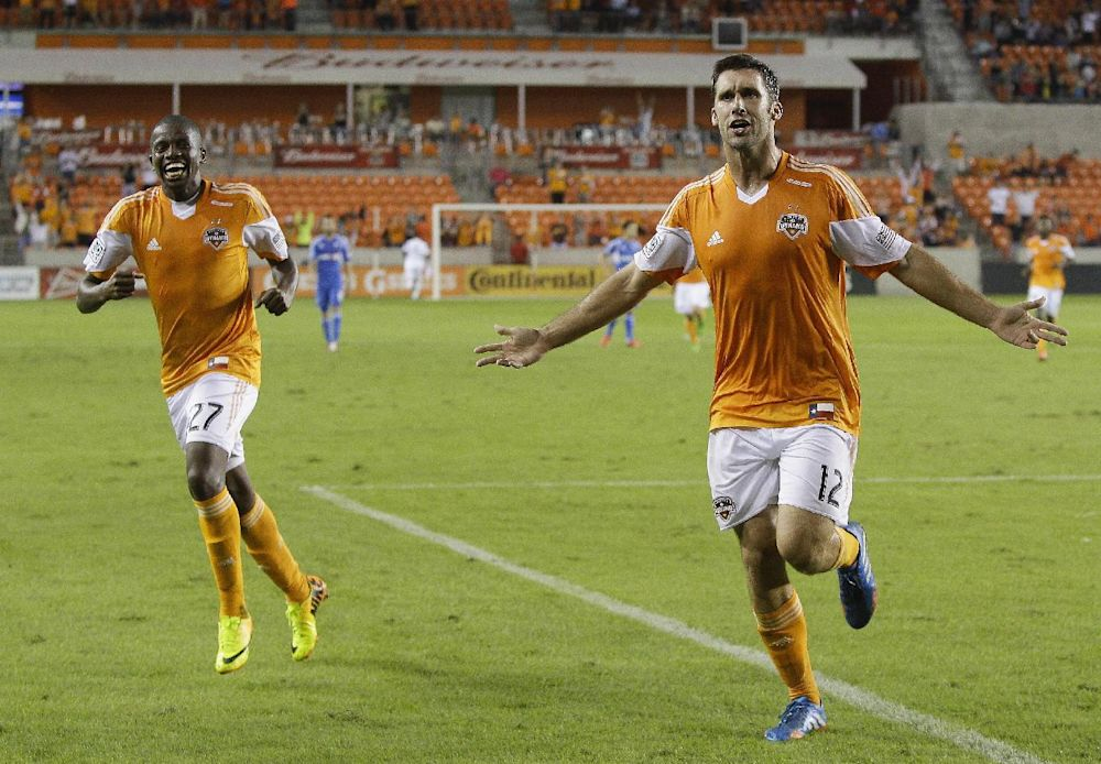 Will Bruin scores, Dynamo tie Timbers 1-1