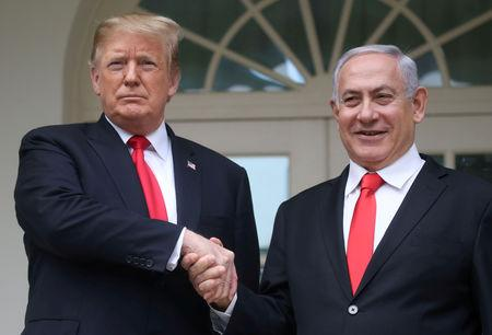 Israel to name new town on Golan after Trump: Netanyahu