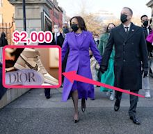 Kamala Harris' nephew-in-law dedicated an entire suitcase to transport the $2,000 Dior Jordans he wore to the inauguration