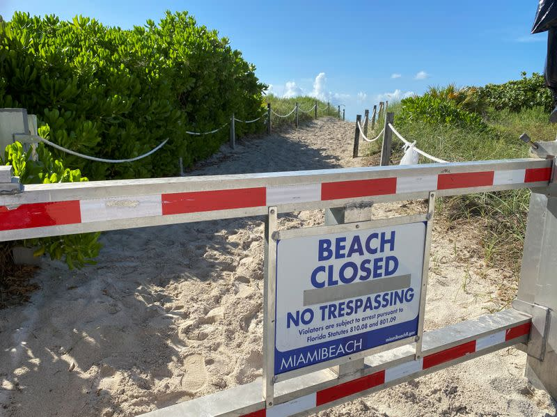 Miami mayor imposes nightly curfew to battle Florida coronavirus surge