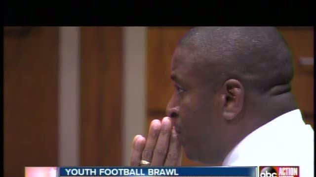 Youth football coach sentenced in brawl