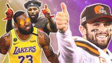 LeBron James' 20-Emoji Reaction To Browns' Epic Jerseys