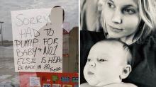Working mum praised for closing store to breast pump