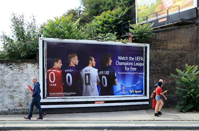 BT Sport ads banned for promoting 'free' Champions League coverage