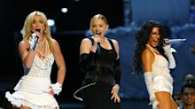 Christina Aguilera nunca consideró 'impactante' su beso con Madonna en los MTV