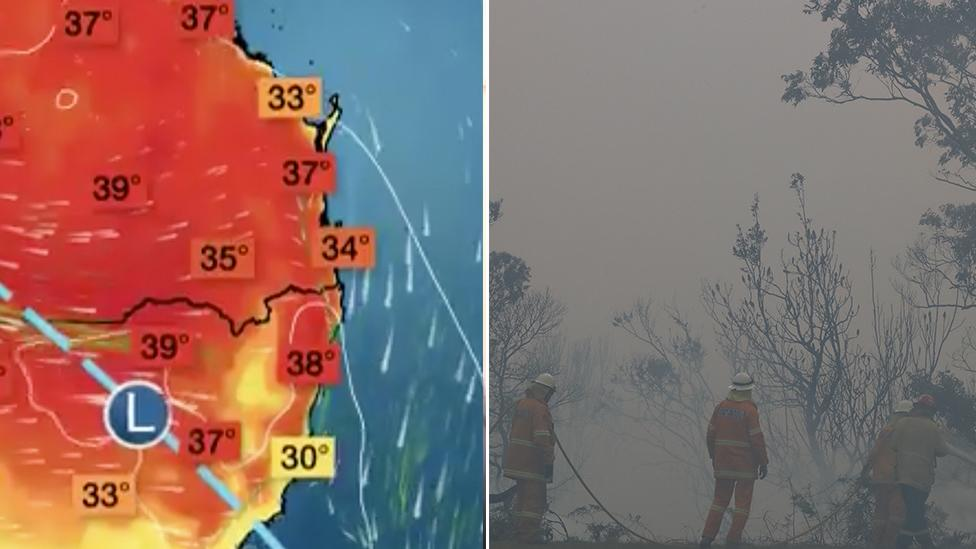 A tale of two extremes: Australia's east coast set for hot days and 'winter-like' conditions