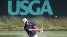 Strange penalty costs Daniel Tosh's nephew at U.S. Open, but he's still in contention