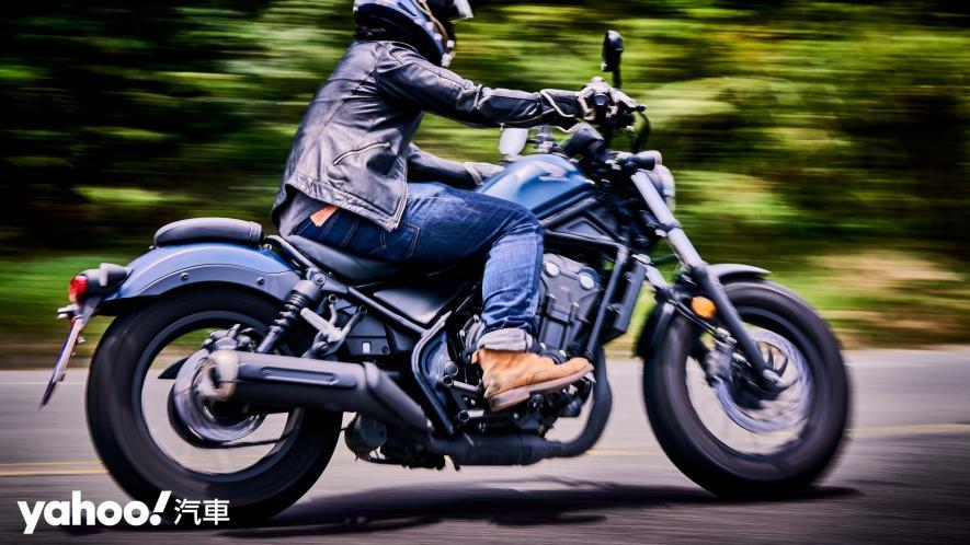 展現難以置信的靈活輕鬆!2020 Honda日系美式車型Rebel 500新北山區試駕! - 1