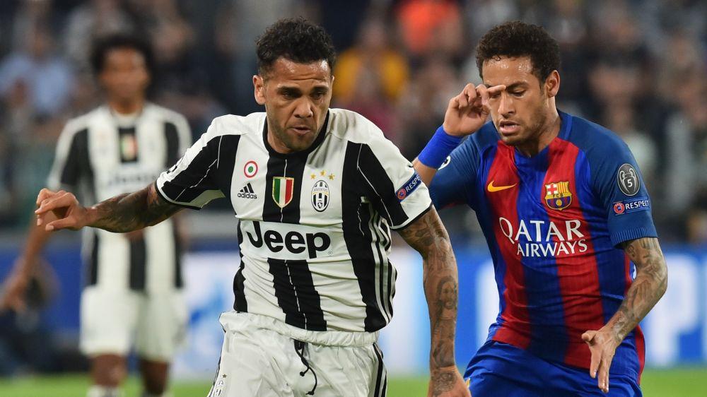 Barça-Juventus, Daniel Alves a salué tout le banc barcelonais