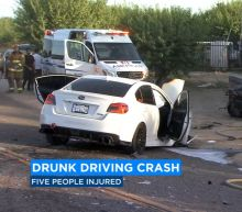 Fresno Co. head-on crash that hospitalized 5 confirmed DUI, driver arrested