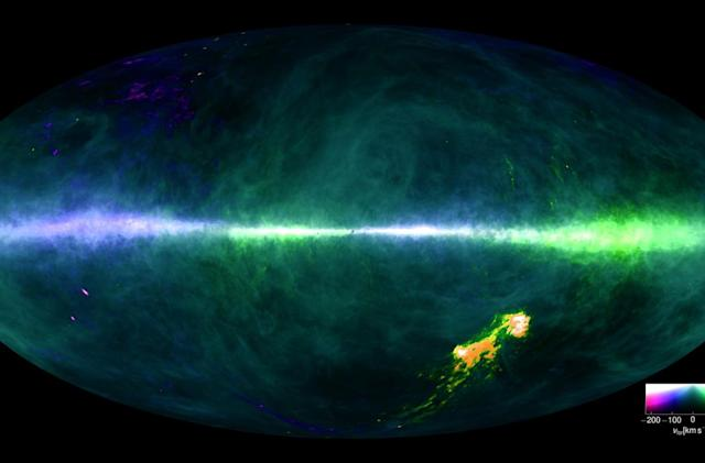Scientists map the Milky Way Galaxy in exceptional detail