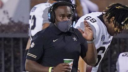 Vanderbilt fires Mason after 0-8 start, ugly rout