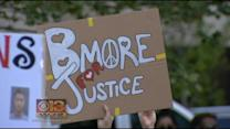 Peaceful Baltimore Demonstrators Praise Top Prosecutor
