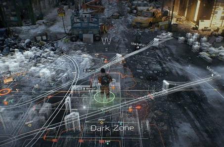 The Division receives fancy engine trailer during VGX