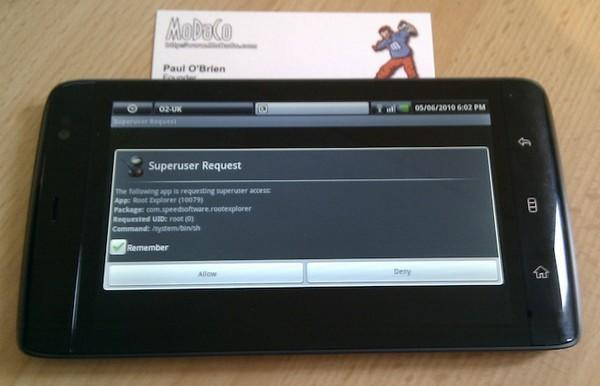 Dell Streak gets rooted, now accepting superusers