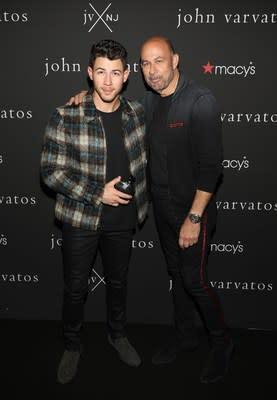 Nick Jonas And John Varvatos Meet & Greet Fans At Macy's Aventura In Miami, Florida