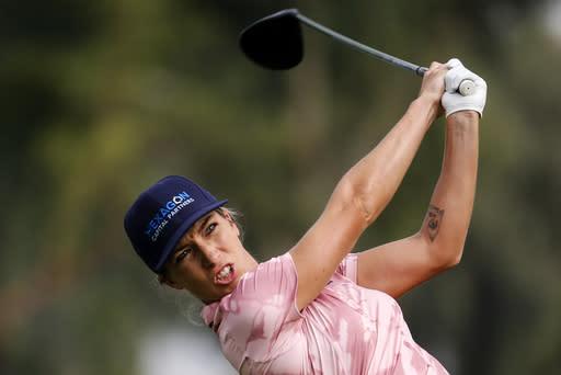 Mel Reid takes lead into Shoprite LPGA Classic finale